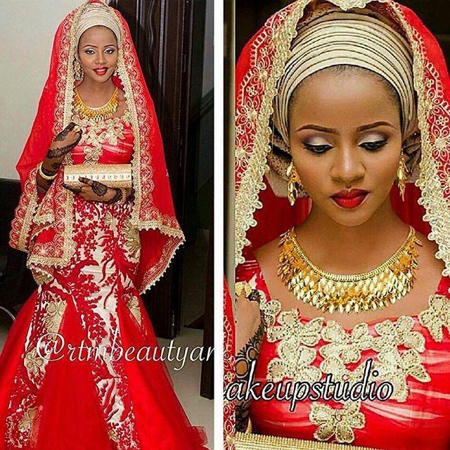 Hausa Wedding Dress Inspiration | Sugar Weddings & Parties