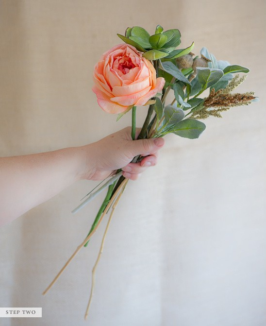 Making Your Own Wedding Flowers: Wedding DIY Tip: Make Your Own Bridal Bouquet From Faux