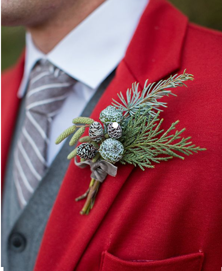 Christmas Weddings Decorations: Sugar Weddings & Parties