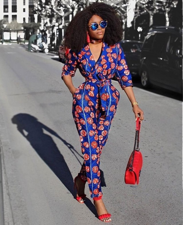 71d4d94d46c64 This is probably our favourite Ankara jacket ever. It s chic and edgy and  the accessories are bomb too.