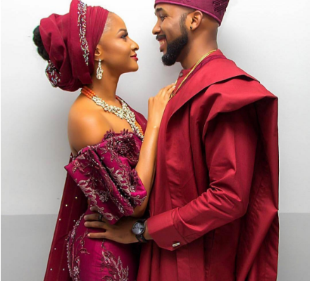 Adesua And Banky W Beautiful Wedding Introduction Pictures