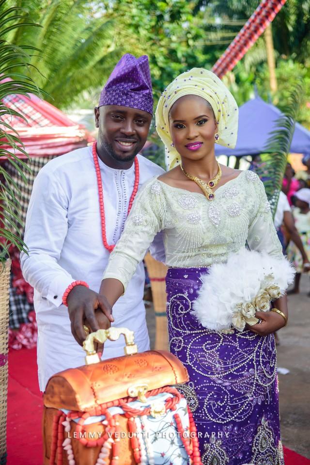 Nma Amp Emy S Colourful Igbo Traditional Wedding Sugar