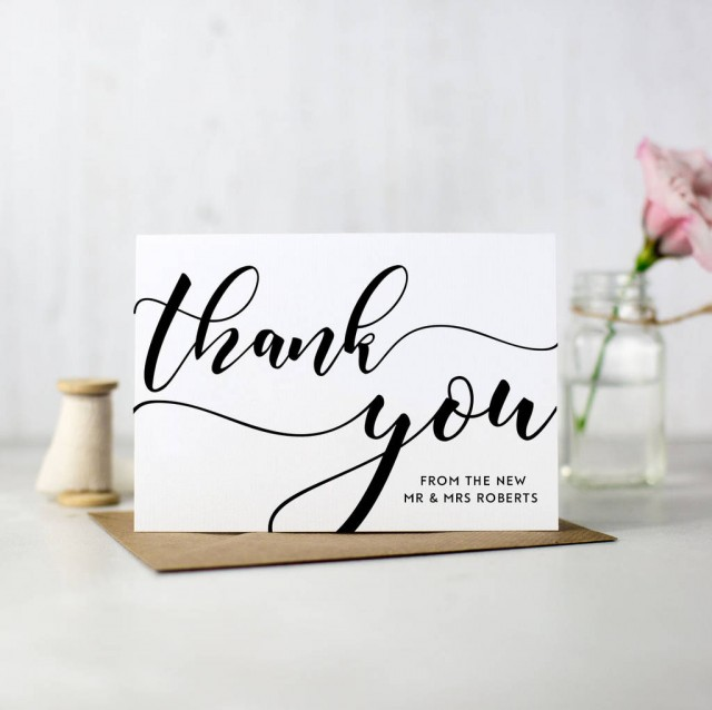 Dos And Don Ts Of Wedding Thank You Notes Sugar Weddings Parties