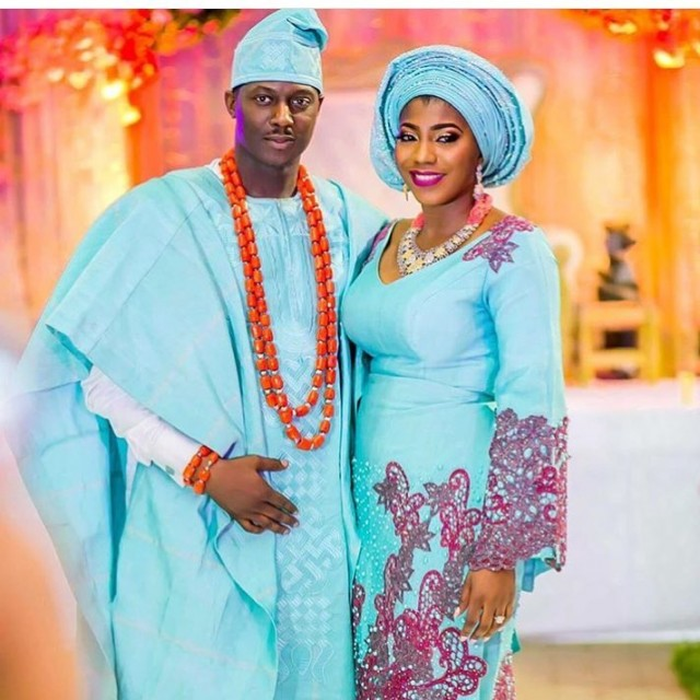 Nigerian Traditional Yoruba Wedding: Unique Aso Oke Combinations For 2017