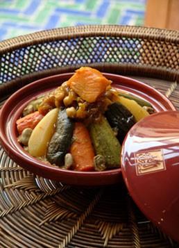 Food at La Maison Arabe