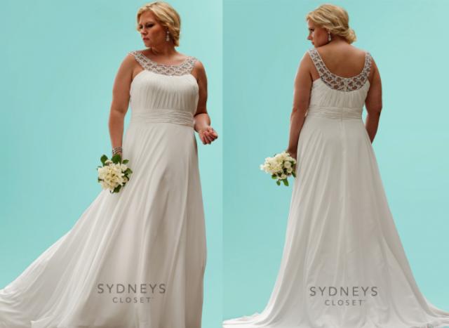 Wedding Dress Picks for a Voluptuous Bride