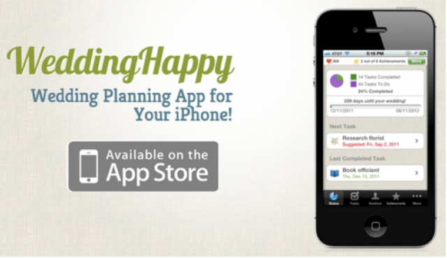 Wedding Planning App.5 Wedding Planning Mobile Apps Every Engaged Couple Should Download