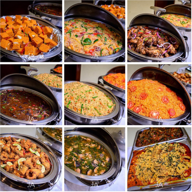 Food Menu For Wedding: Party Chops: Wedding Menus Naija Style