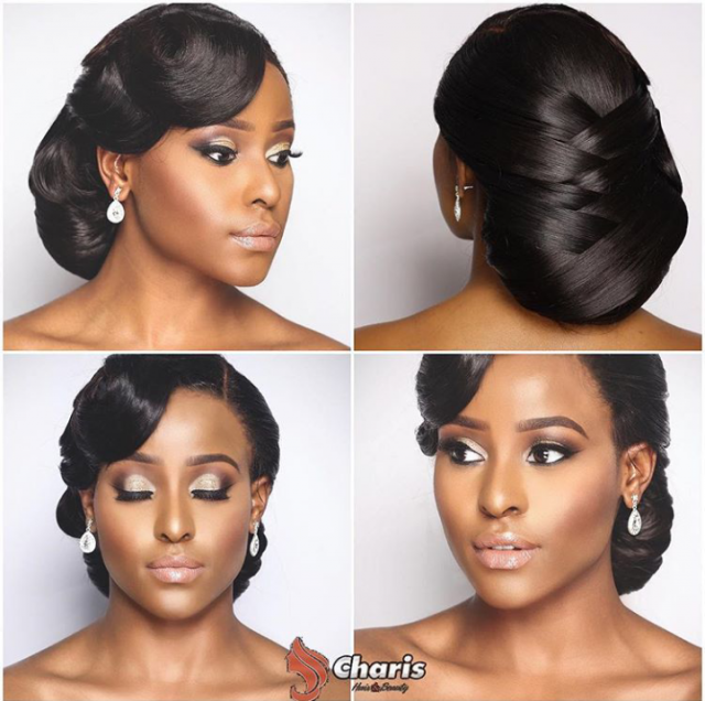Hairstyle For Traditional Wedding: 16 Stunning Hairstyles For Nigerian Brides