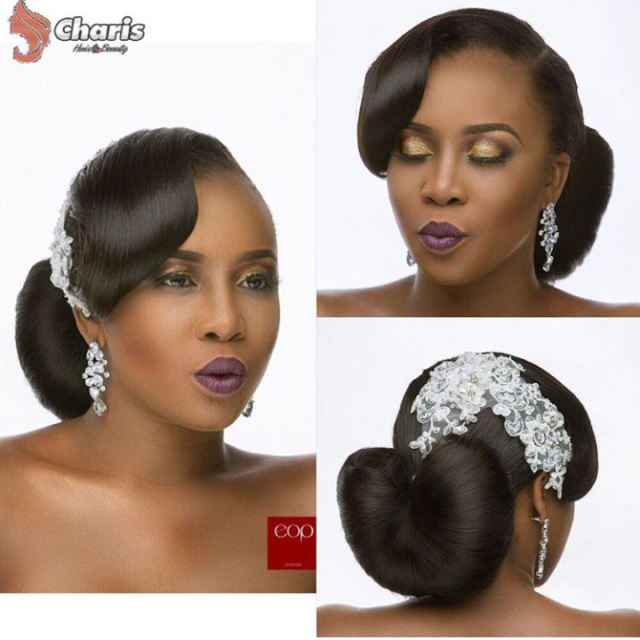 16 stunning hairstyles for nigerian brides junglespirit Images