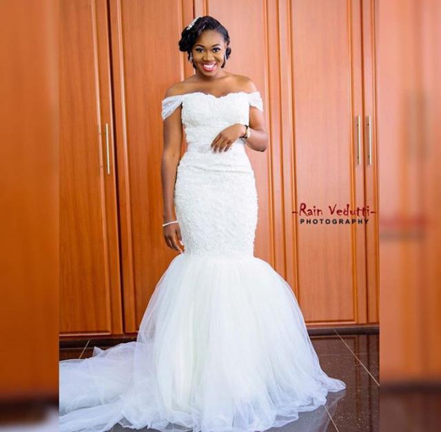Nigerian Wedding Dress Designs: Nigerian Wedding Dress Designer Spotlight: April By Kunbi