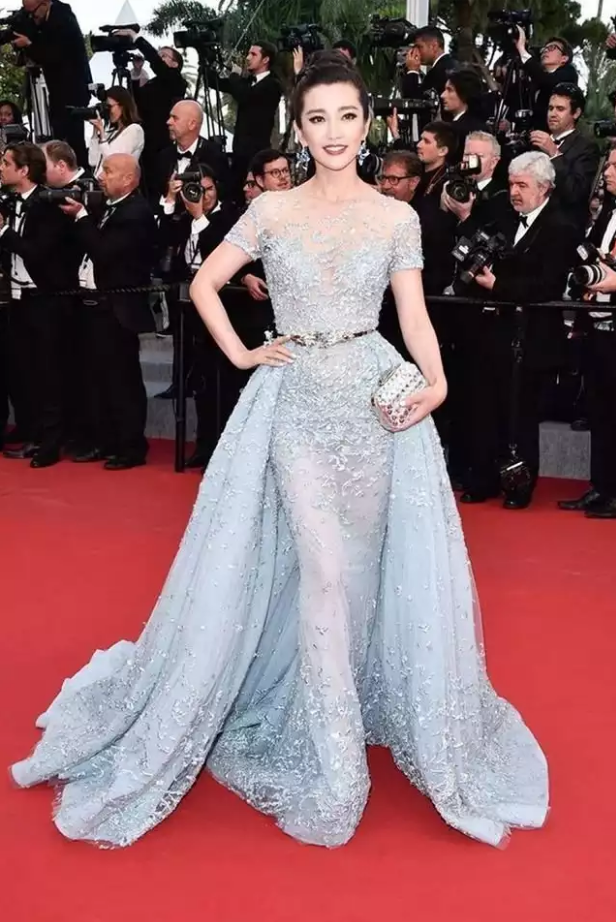 Exclusive wedding reception dresses your cant ignore this stunning silver creation is by lebanese designer zuhair murad and was seen on the red carpet at the cannes festival any bride will be the belle of the junglespirit Images