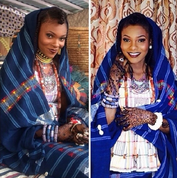 Hairstyle For Traditional Wedding: 15 Fulani Brides Serving Style