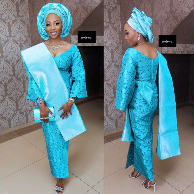 Unique Aso Oke Combinations For 2017