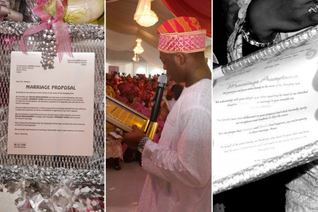 Eight Step Guide To A Yoruba Traditional Wedding Sugar