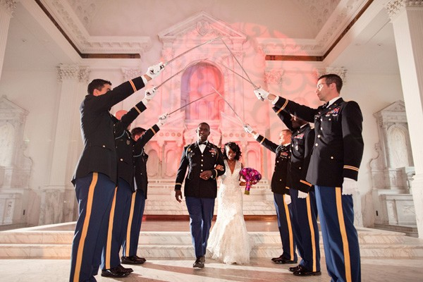 5 Tips For Planning A Military Wedding   Sugar Weddings & Parties
