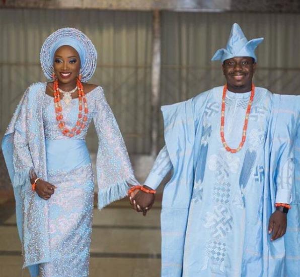 Unique Aso Oke Combinations For 2018 Sugar Weddings