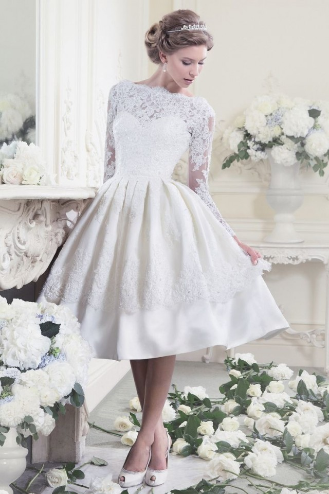 Hubpagesnews the 9 shocking short wedding dresses for for T length wedding dresses