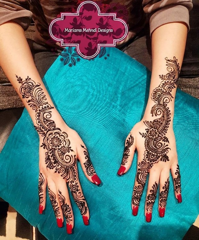 8 Beautiful Henna Body Art Ideas For Brides Sugar Weddings Parties