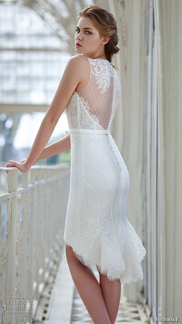 The 9 shocking short wedding dresses for real woman for What is the best wedding dress for short brides