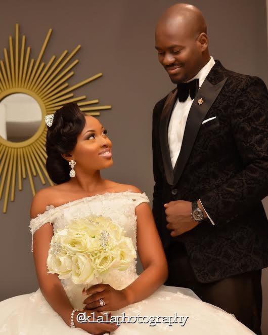 Photos From Olamide & Oladapo's White Wedding | Sugar