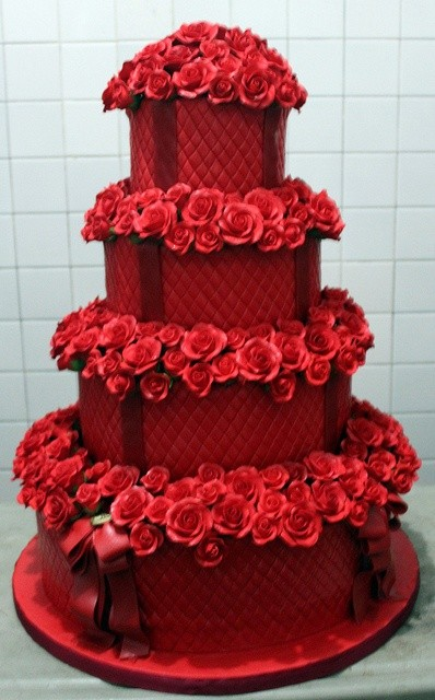 Our Favourite Valentine Inspired Wedding Cakes Sugar