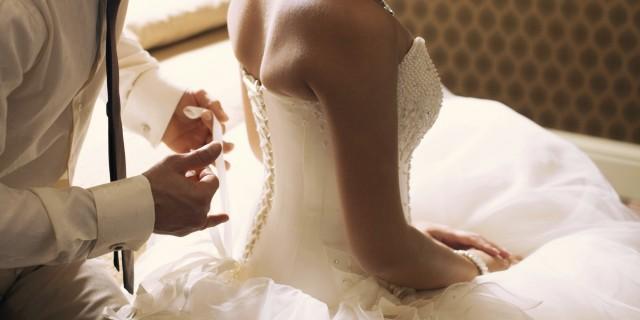 Wedding nights sex