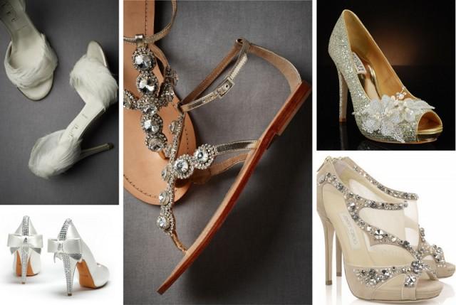 wedding shoes, wedding sandals, unique wedding shoes
