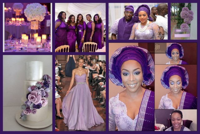 Colour Inspiration: Purple, Lilac & Champagne Gold | Sugar Weddings ...