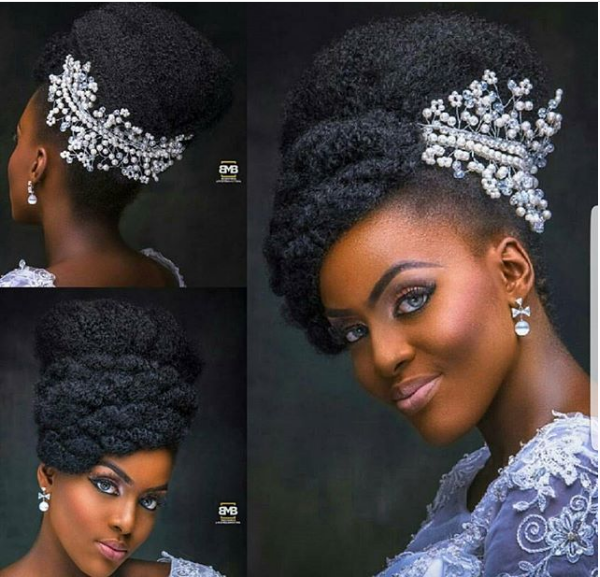 Hairstyles For Wedding Parties: 5 Hairstyle Ideas For Natural Hair Brides