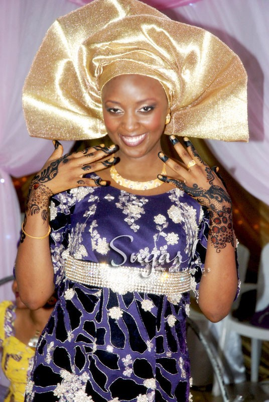 Pic Of The Day Beautiful Fulani Bride Sugar Weddings