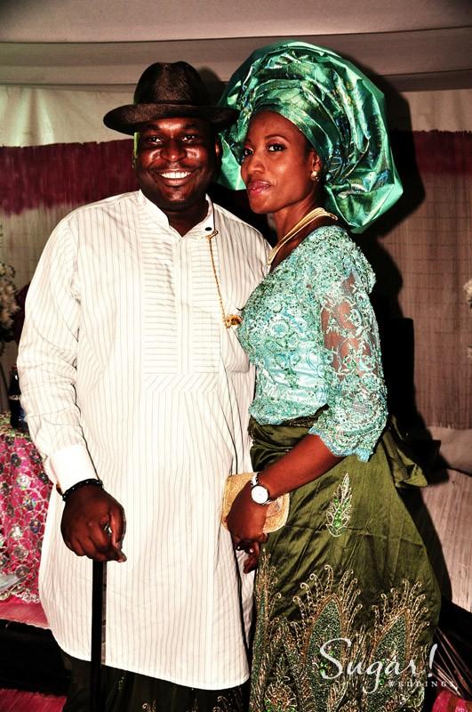 ijaw wedding, pic of the day, green, traditional wedding, wedding photo, nigeria