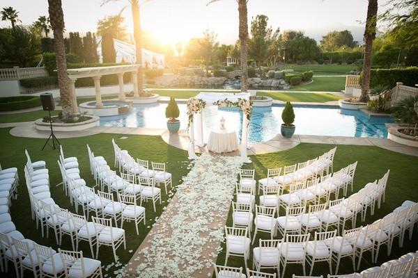 Beautiful Pool Side Weddings Sugar Weddings Amp Parties