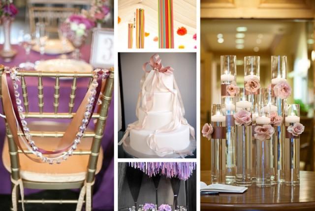 Ribbon Decorations Sugar Weddings Parties