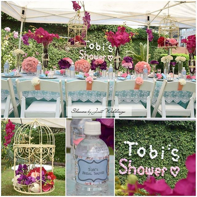 Nigerian bridal shower sugar weddings parties showers by just weddings delivers with this beautiful garden themed bridal shower junglespirit Gallery