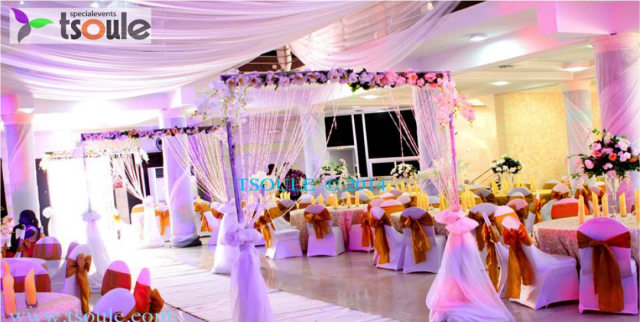 Unique aisle inspiration from 10 nigerian decorators sugar tsoul events junglespirit Choice Image